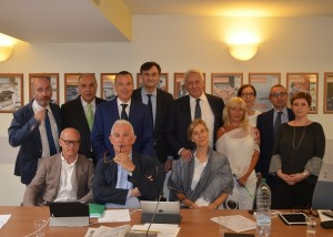 I componenti del primo Consiglio di indirizzo della Fondazione Casagit