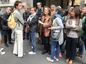 Giornaliste e giornalisti di Condé Nast in sciopero