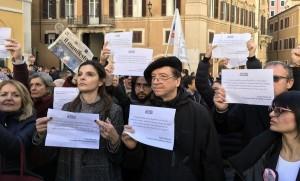 giornalisti-in-piazza-contro-tagli-alleditoria