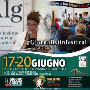 #GIORNALISTINFESTIVAL2019
