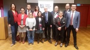 Il neoeletto Steering Committee della Efj