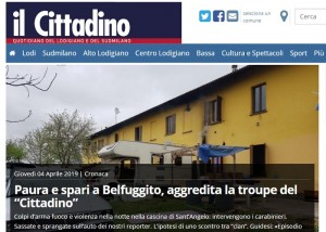 La home page di ilcittadino.it