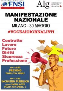 Manifestazione nazionale a Milano