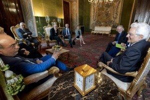 Mattarella riceve i rappresentanti degli enti di categoria