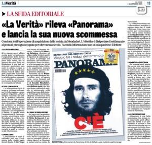 Panorama: nella scommessa di Belpietro sono i giornalisti ad aver pagato il cip